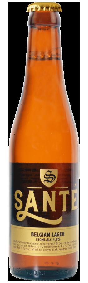 Santé. Santé beer - Belgian beer heritage since 1892.